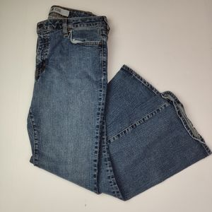 Gap Jeans Flare Ankle Cut Size 10